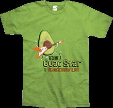 Guac Star (Lime Green)