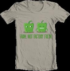 Green Pepper - Farm, Not Factory