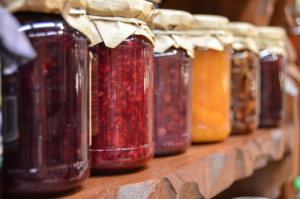 canned vegetables fermenting process