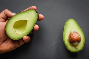 Fresh avocados for natural face mask recipe