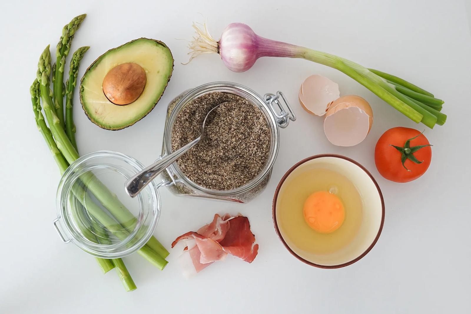 local organic fresh ingredients