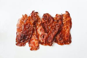 pan fried bacon