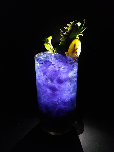 purple cocktail