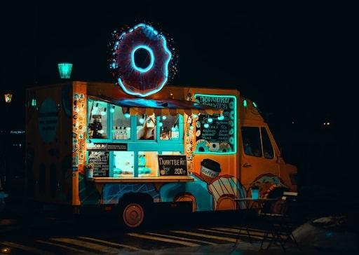 organic food truck